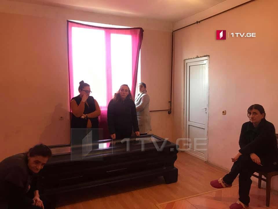 გალში გარდაცვლილ ირაკლი კვარაცხელიას კვირას სენაკში დაკრძალავენ