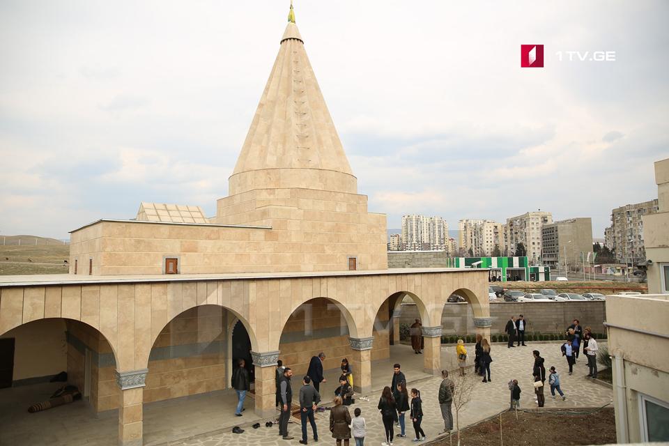 თბილისში, იეზიდების ტაძარში კლოჩე სარე სალეს დღესასწაულისადმი მიძღვნილი მსახურება ჩატარდა