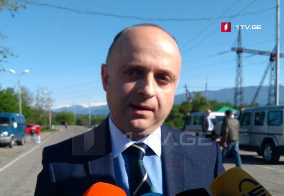 Ираклий Антадзе - Факт бордеризации или любой другой инцидент в селе Хурвалети не зафиксирован