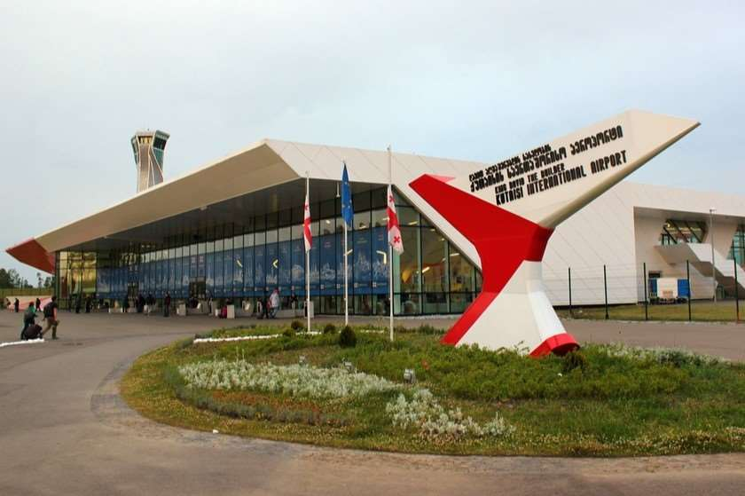 Passengers flow at Kutaisi International Airport increased by almost 40%