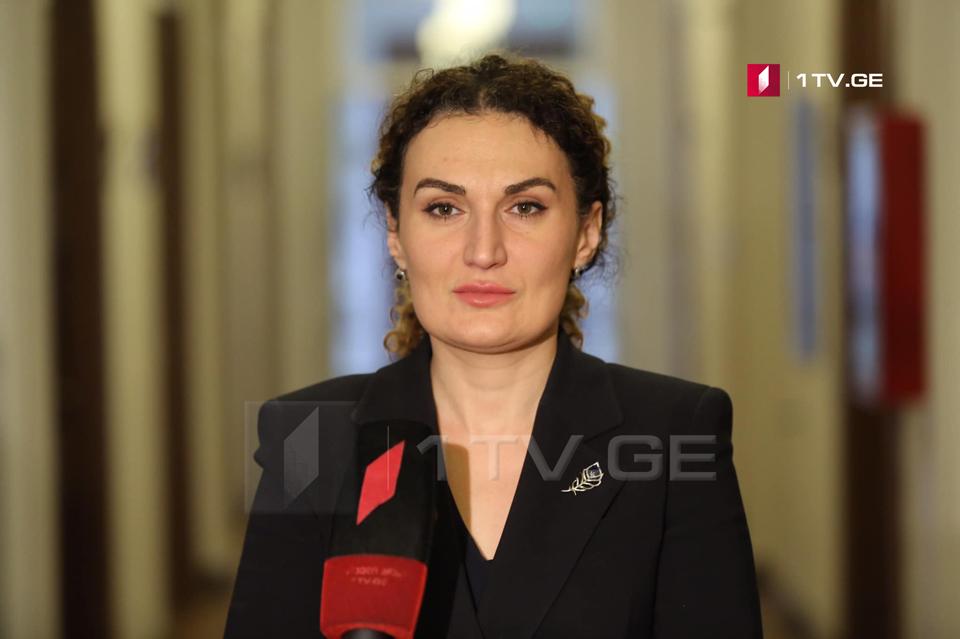 Кетеван Цихелашвили - Сегодня я ясно сказала, что российские военные находились на оккупированной территории, а не на территории контролируемой грузинскими властями