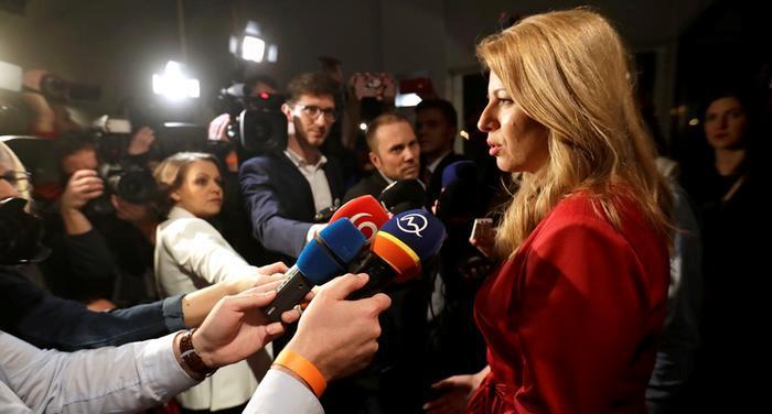Slovakiya prezident seçkilərində Zuzana Çaputova liderlik edir