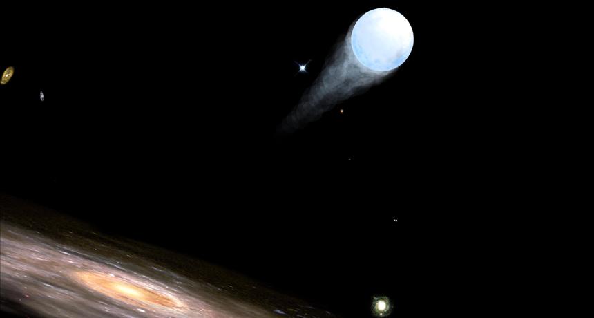 დაფიქსირებულია უცნაური ვარსკვლავი, რომელიც ირმის ნახტომიდან წარმოუდგენელი სისწრაფით გარბის