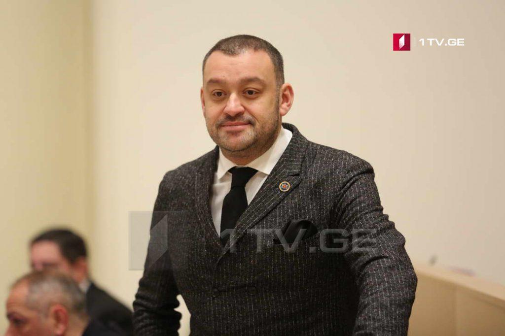 На посту председателя комитета по вопросам диаспоры Звиада Квачантирадзе сменит Бека Одишария