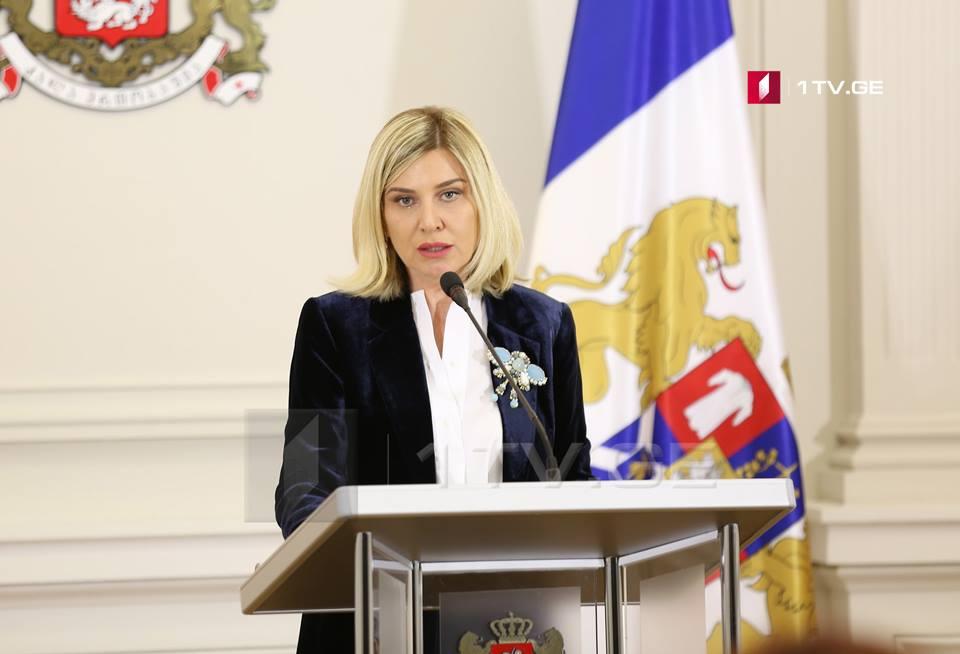 ხატია მოისწრაფიშვილი - კიბერუსაფრთხოების კუთხით საქართველოსა და საფრანგეთს შორის თანამშრომლობას გავაძლიერებთ