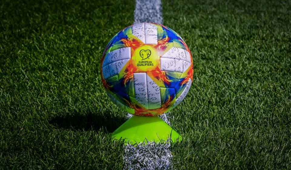УЕФА показалмяч отборочного турнира Евро 2020