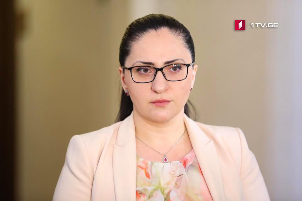 სოფო კილაძე - საქართველოს ოკუპირებულ ტერიტორიებზე ადამიანების უფლებათა უმძიმეს დარღვევებზე პასუხისმგებლობა რუსეთს ეკისრება