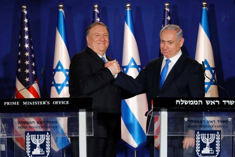 გოლანის მაღლობზე ისრაელის სუვერენიტეტის აღიარებისთვის ბენიამინ ნეთანიაჰუ აშშ-ის მადლობას უხდის