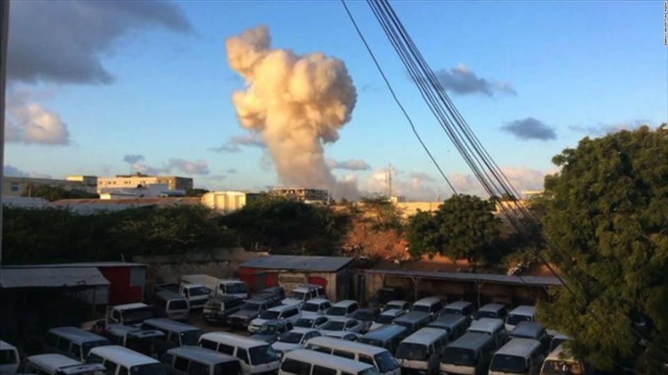 Սոմալիի մայրաքաղաքում տեղի է ունեցել հզոր պայթյուն