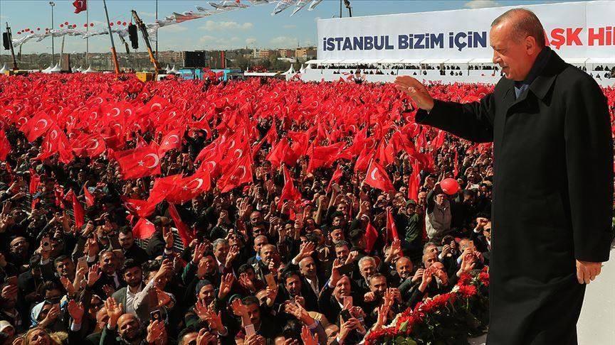 თურქეთის პრეზიდენტმა წინასაარჩევნო აქციაზე, რომელსაც 1.6 მილიონი ადამიანი ესწრებოდა, ახალი პროექტები დააანონსა
