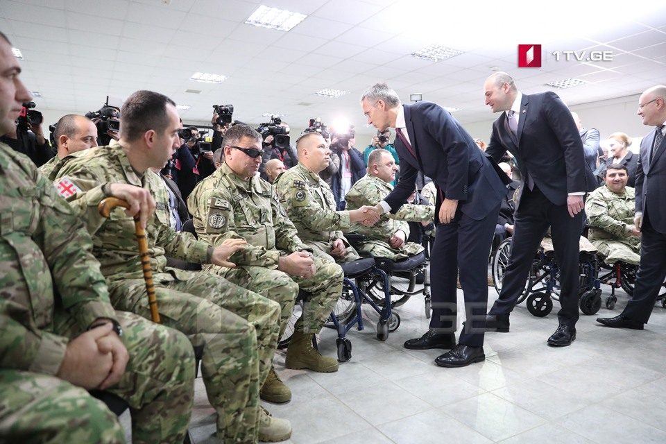 Jens Stoltenberg: Afghanistan is no longer a shelter for terrorists, without Georgian soldiers it would be impossible to achieve