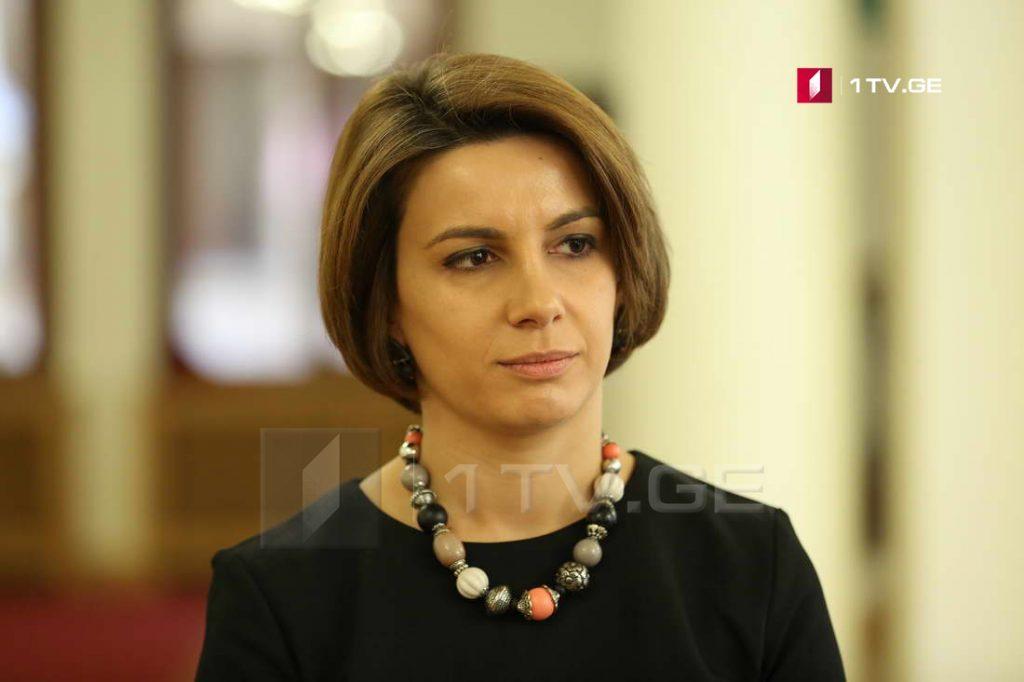 Тамар Чугошвили – В связи с событиями в Панкиси многое еще предстоит выяснить, соответствующие ведомства работают над этим