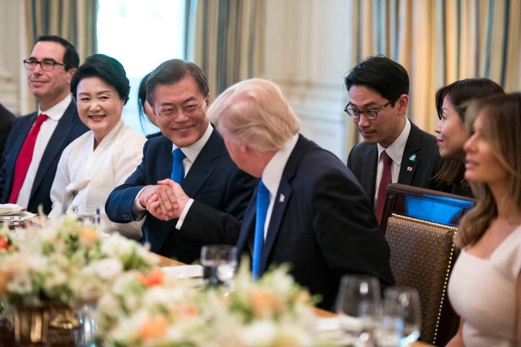 სამხრეთ კორეის პრეზიდენტი 11 აპრილს ვაშინგტონში ჩავა