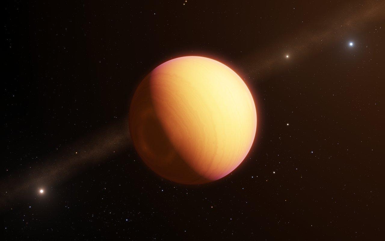 უმძლავრესმა ტელესკოპმა შორეულ ეგზოპლანეტას დეტალური ფოტო გადაუღო