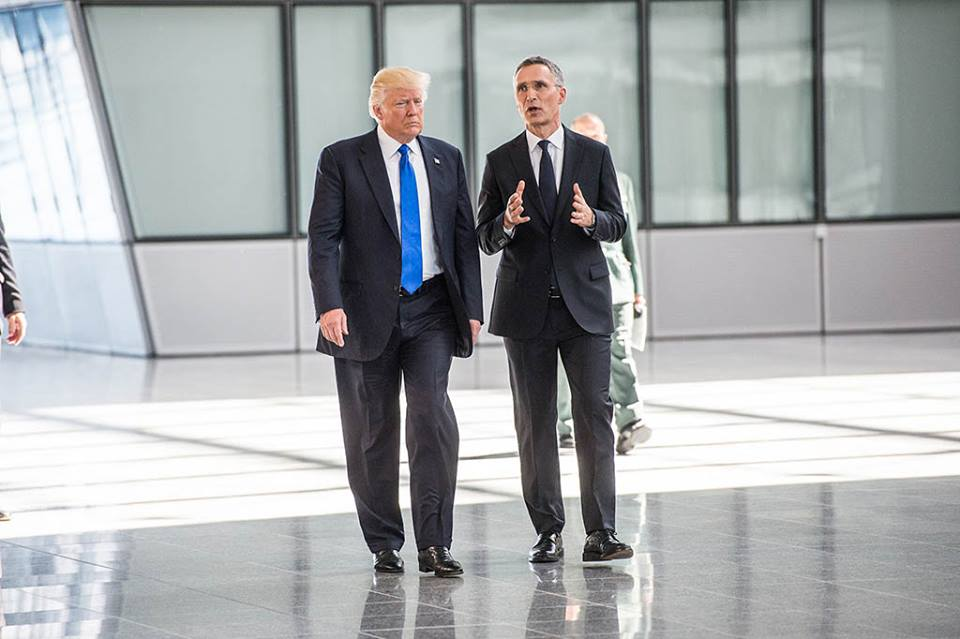 Donald Trump, NATO leader to meet at White House
