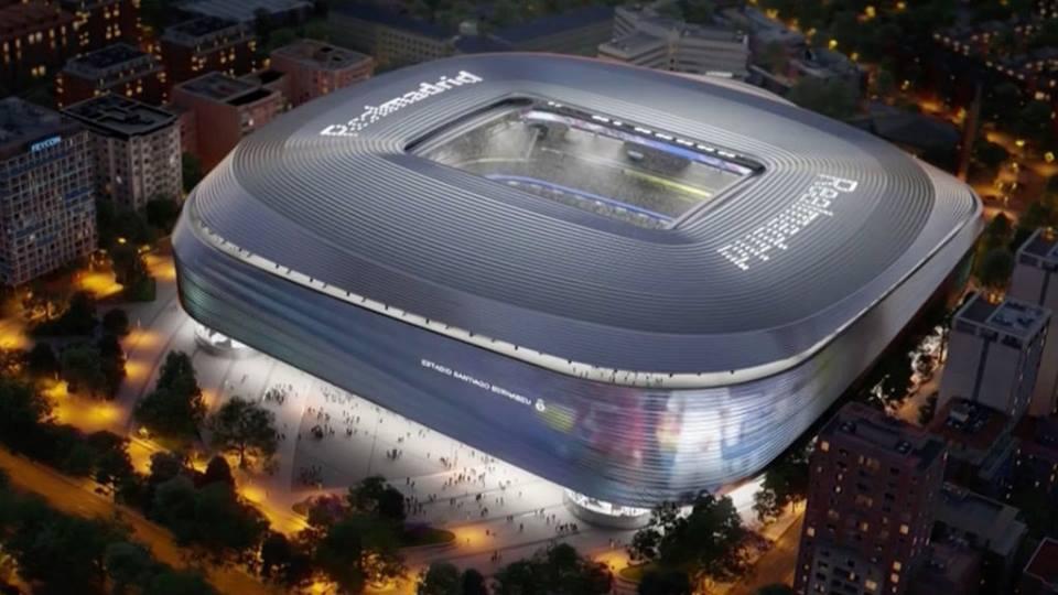 """Какой будет обновленная домашняя арена """"Реал Мадрид"""" (видео)"""