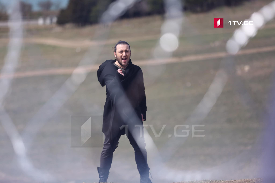 Shooting of video clip on entry song of Oto Nemsadze ends today (Photo)