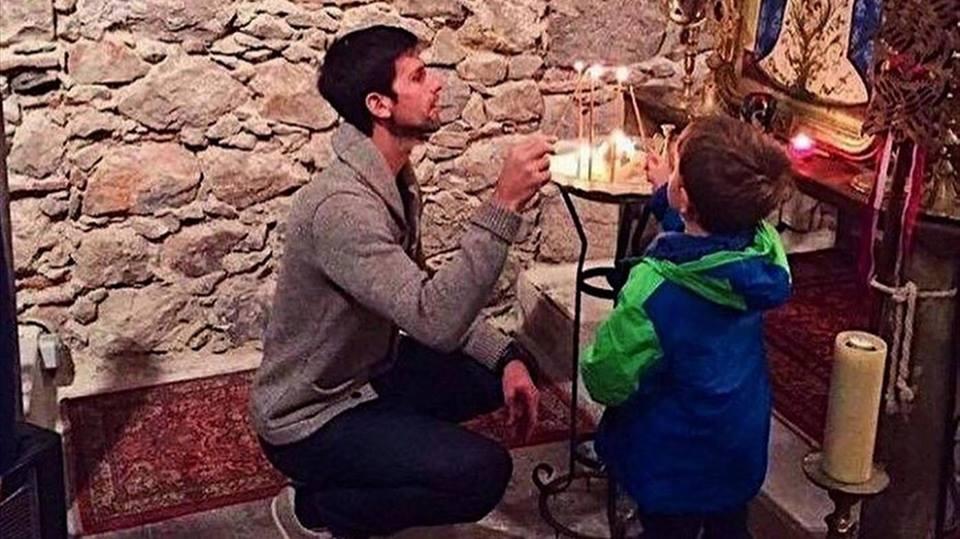 ჯოკოვიჩი ნიცაში მართლმადიდებლური ეკლესიისთვის იზრუნებს