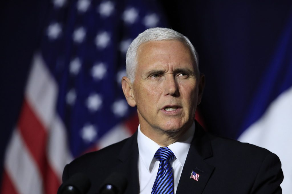 Mike Pence warns Turkey against buying Russian air defense system