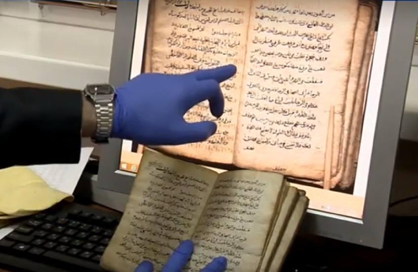 პიკის საათი -  დაღესტანში აღმოჩენილი უძველესი ხელნაწერი