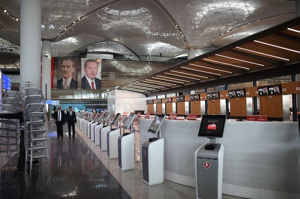 სტამბოლშიდღეიდან სამგზავრო რეისები ახალი აეროპორტიდან შესრულდება