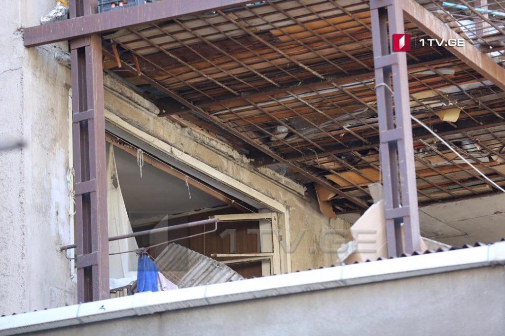დიღმის მასივში დაზიანებული კორპუსიდან 21 ოჯახს გამგეობა დროებითი საცხოვრებლით უზრუნველყოფს