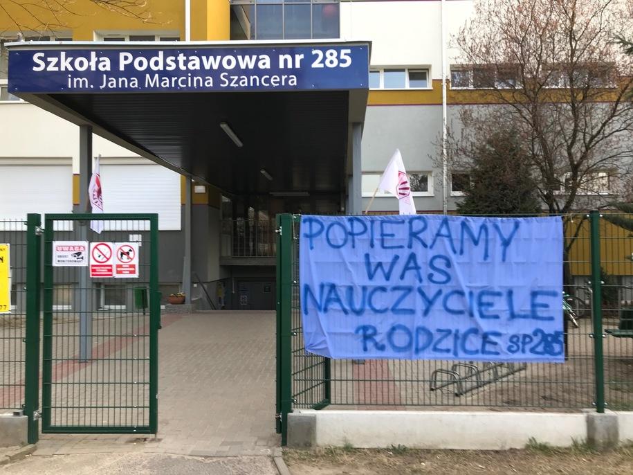 ხელფასის გაზრდის მოთხოვნით, პოლონეთში მასწავლებლები გაიფიცნენ