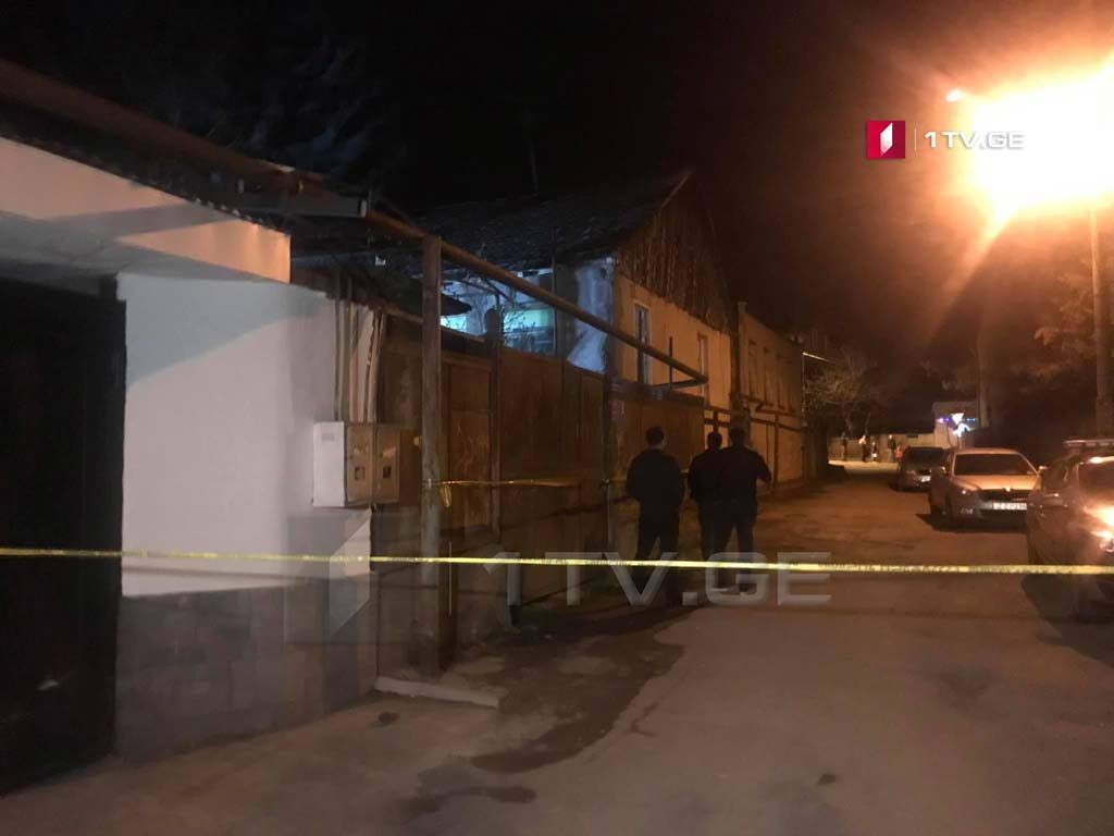 Убийство произошло в Цкнети