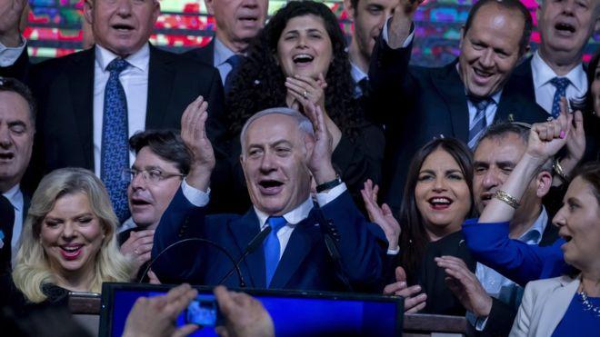 """ისრაელში საპარლამენტო არჩევნებში მმართველი პარტია """"ლიკუდი"""" და ცენტრისტული ალიანსი """"ლურჯი და თეთრი"""" ლიდერობენ"""