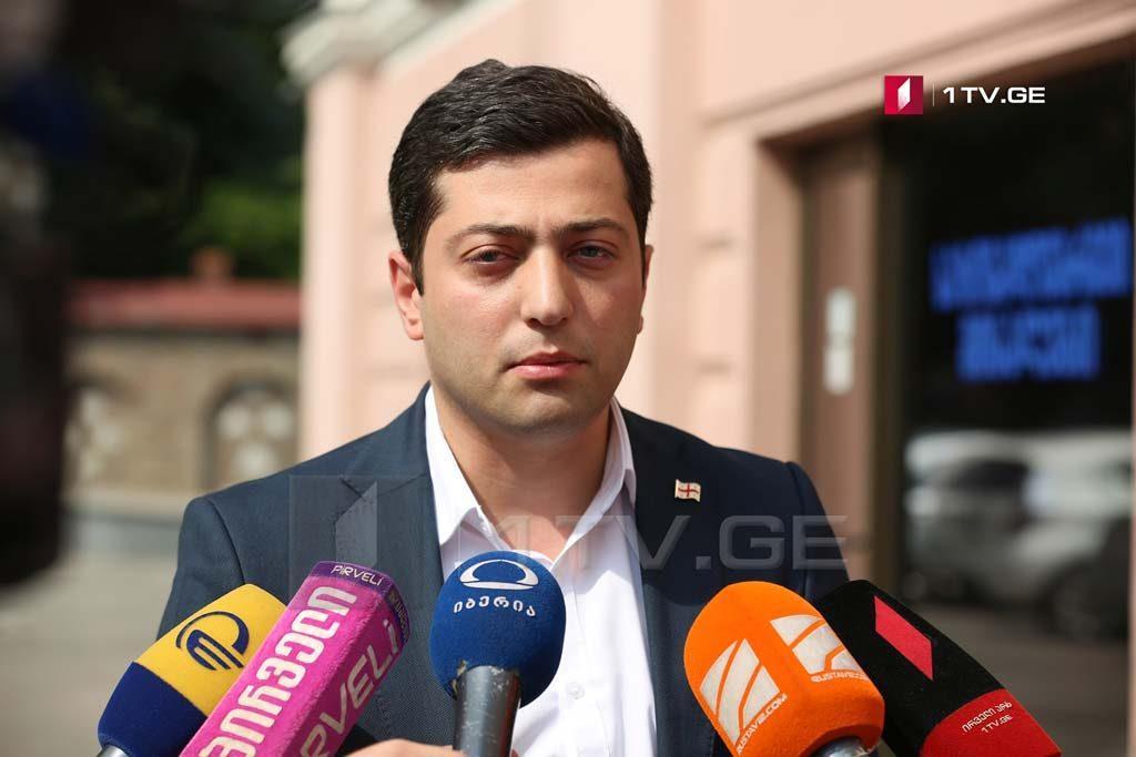 """ზაზა გაბუნია -""""ქართული ოცნება"""" რუსულ ოკუპაციას არ შეურიგდება, განსხვავებით იმ პოლიტიკური ძალის წარმომადგენლებისგან, რომლებიც ოკუპანტ გენერლებს მძღოლებად დაუდგნენ"""