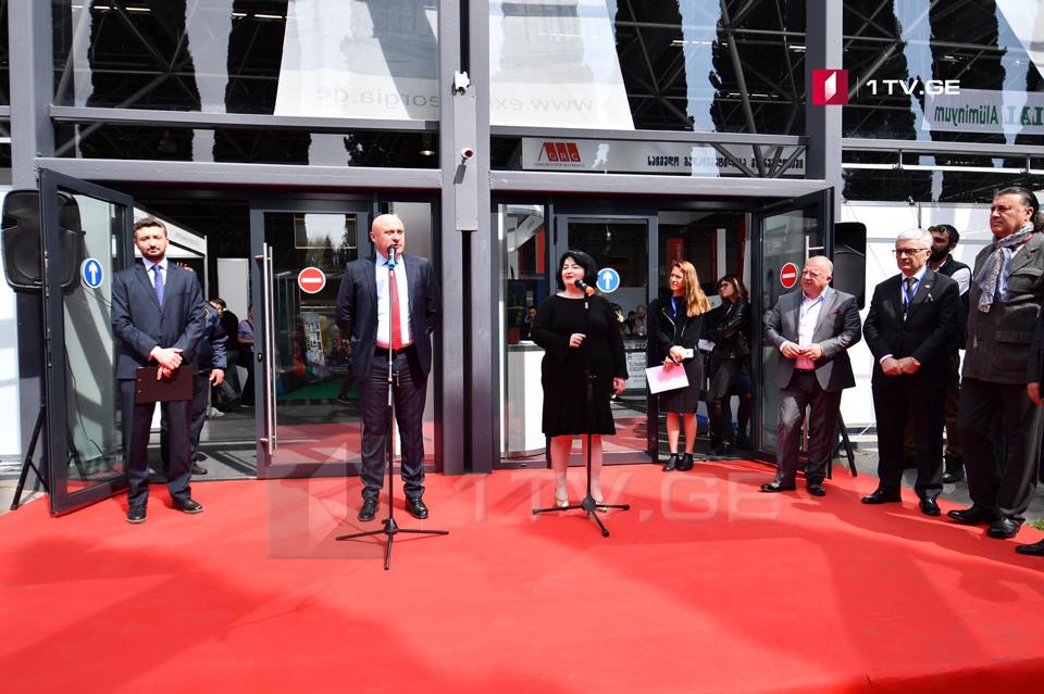 თბილისში მშენებლობისა და ინტერიერის 24-ე საერთაშორისო გამოფენა გაიხსნა [ფოტო]