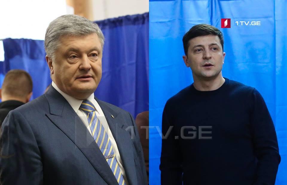 По данным социологического опроса, во втором туре президентских выборов в Украине Владимир Зеленский наберёт 71% голосов, а Петро Порошенко - 29%