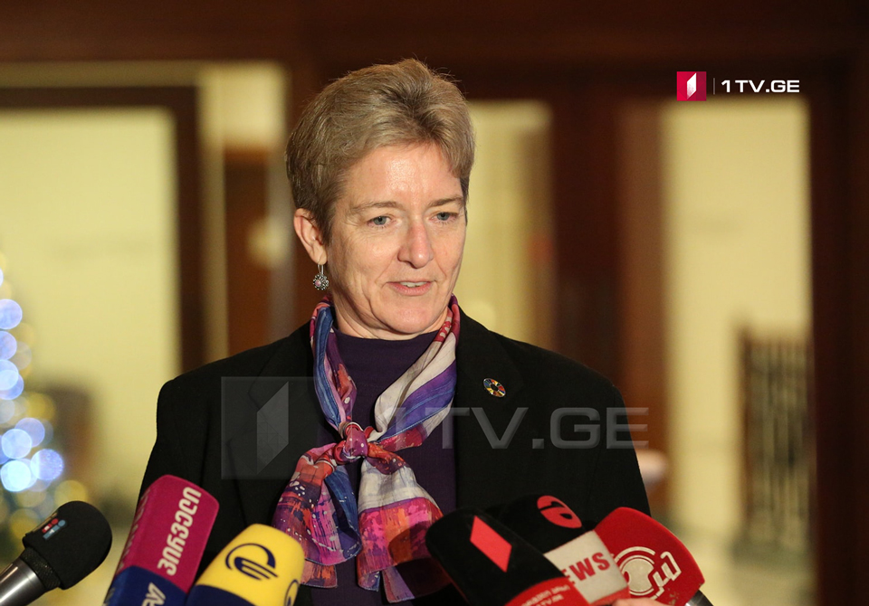 Louisa Vinton: We are glad that confrontation was replaced by negotiations in Pankisi Gorge, we expect positive results