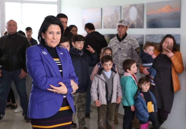 Salome Zurabishvili continues holding meetings in Samtskhe-Javakheti