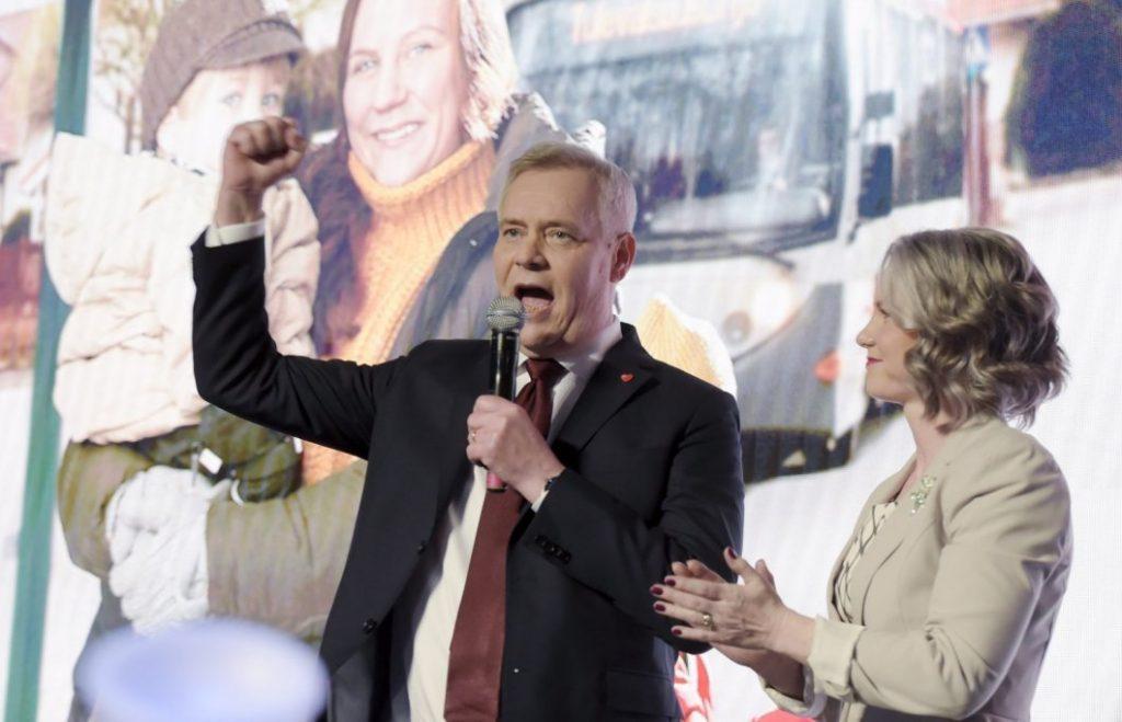 ფინეთის მემარცხენე სოციალ-დემოკრატიულმა პარტიამ საპარლამენტო არჩევნებში თავი გამარჯვებულად გამოაცხადა
