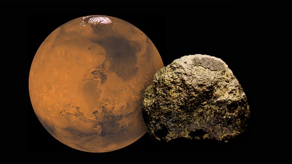 დედამიწაზე ნაპოვნი ძველი მეტეორიტი, რომელშიც შესაძლოა, მარსზე ერთ დროს არსებული ბაქტერიები იმალება