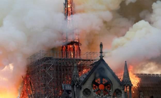 საფრანგეთის ხელისუფლებაში აცხადებენ, რომ პარიზის ღვთისმშობლის ტაძარში ცეცხლის ჩასაქრობად ვერტმფრენებს ვერ გამოიყენებენ