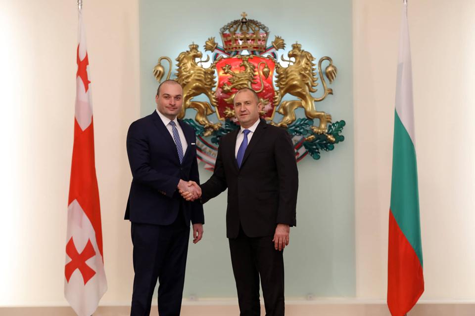 ბულგარეთის პრეზიდენტი - მხარს ვუჭერთ საქართველოს ევროპულ და ევროატლანტიკურ მისწრაფებებს, ტერიტორიულ მთლიანობასა და სუვერენიტეტს