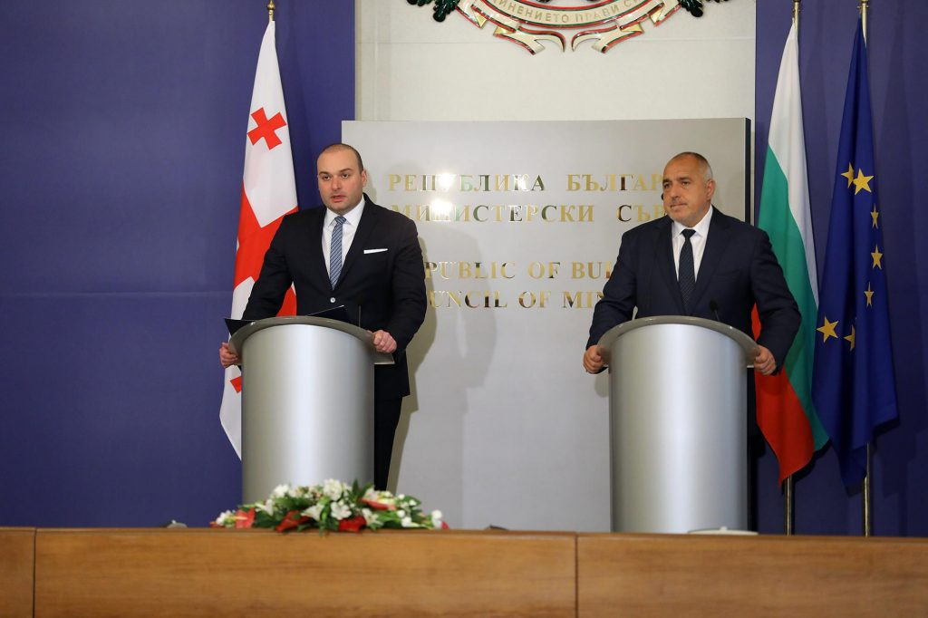 Georgian and Bulgarian Prime Ministers meet in Sofia