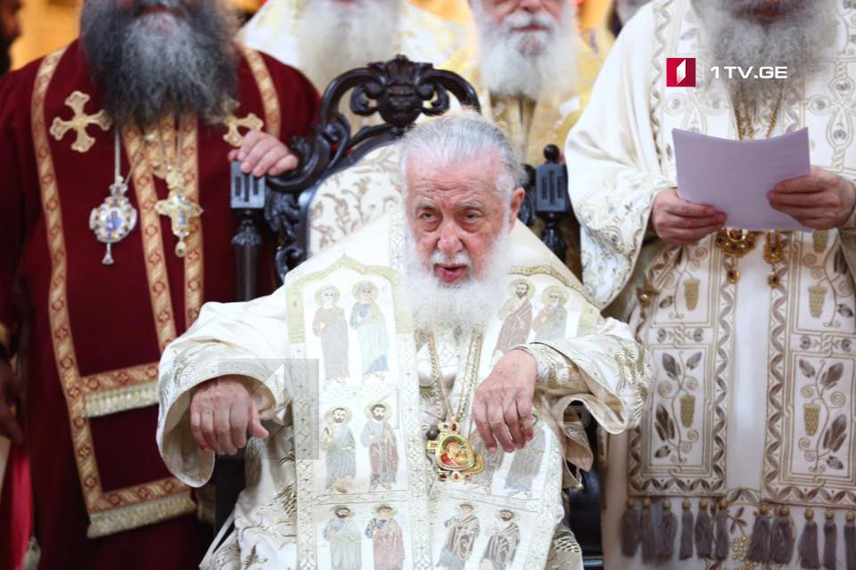 Catholicos Patriarch – Fire destroyed the beauty not only of France but of whole Europe