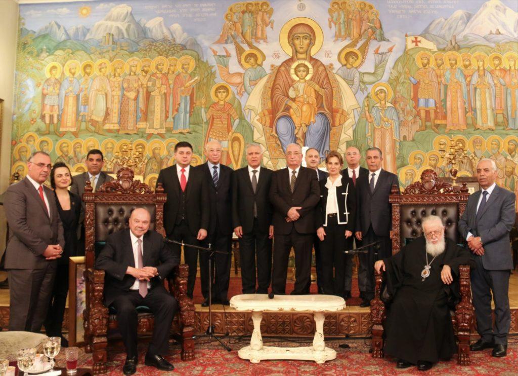 Илия Второй встретился с президентом Сената ИорданскогоХашимитского Королевства