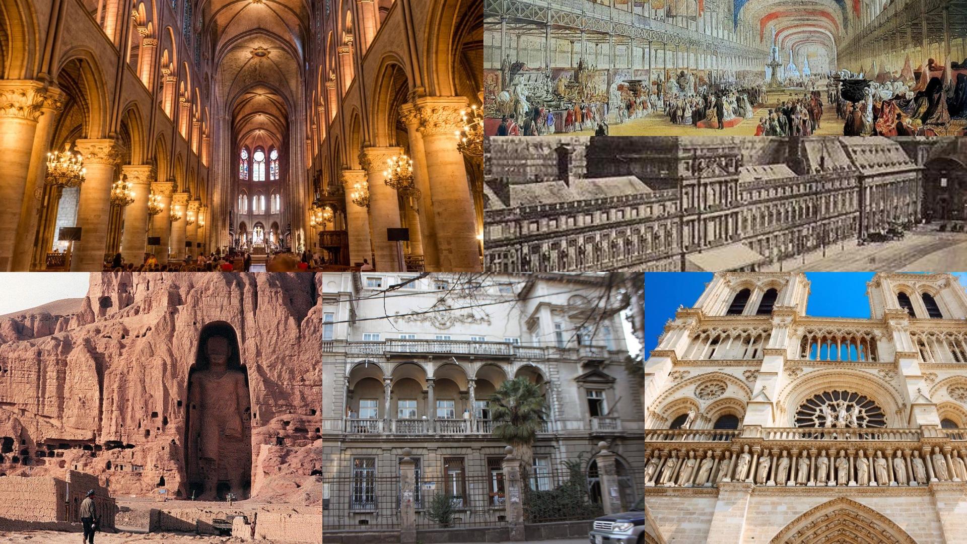 პიკის საათი - სტიქიებს და ომებს შეწირული ისტორიული ძეგლები