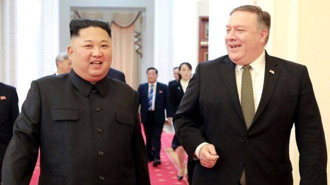 ჩრდილოეთ კორეა ბირთვული განიარაღების საკითხზე მოლაპარაკებებიდან მაიკ პომპეოს ჩამოშორებას მოითხოვს
