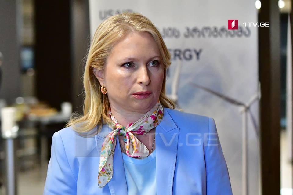 Натия Турнава назначена министром экономики и устойчивого развития