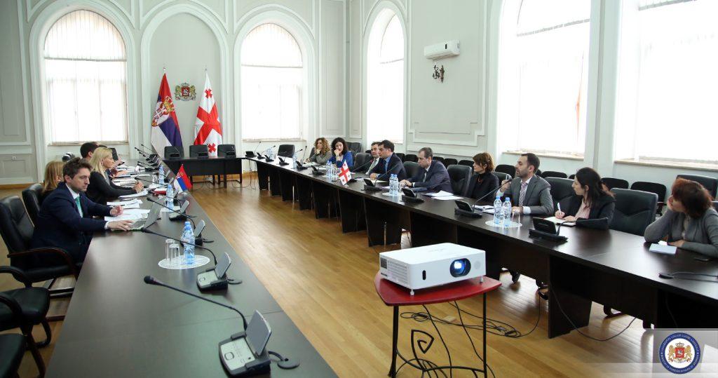 Վրաստանի և Սերբիայի միջև եվրաինտեգրման հարցերով կայացել է երկկողմ երկխոսություն