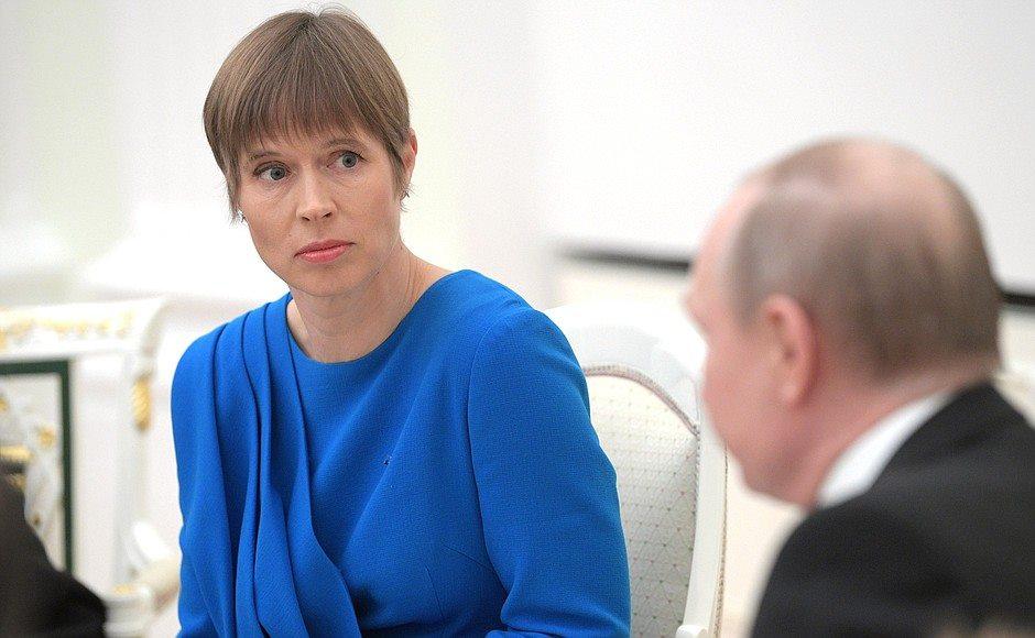 ესტონეთისა და რუსეთის პრეზიდენტებმა კრემლში შეხვედრაზე საქართველოს შესახებაც ისაუბრეს
