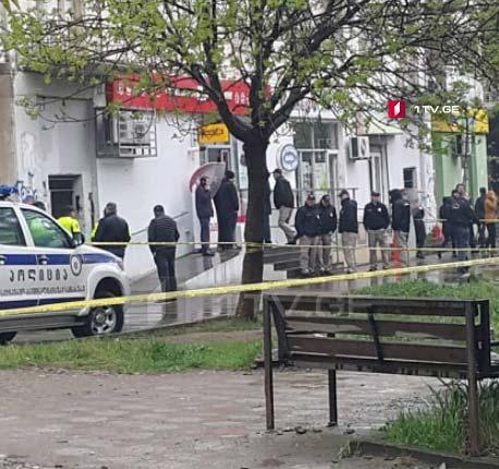 """В Тбилиси на улице Сухишвили ограбили филиал """"Либерти банка"""""""