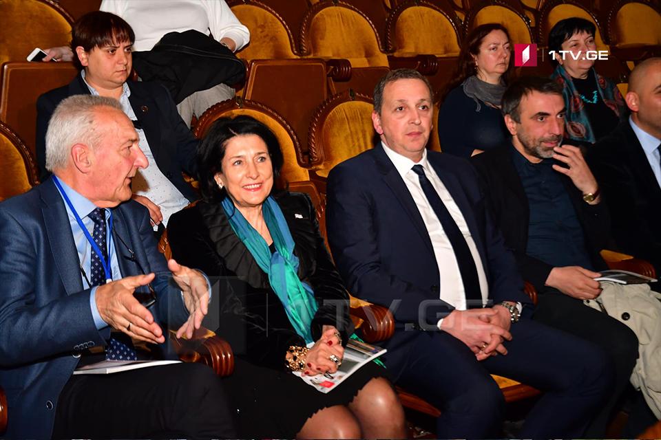 """თბილისში საზეიმო ღონისძიება """"ევროპა ნოსტრა საქართველოში"""" გაიმართა"""