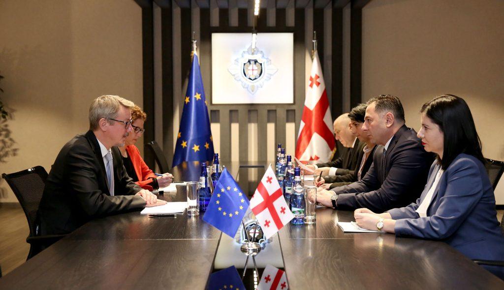 Глава Службы государственной безопасности встретился с послом ЕС в Грузии