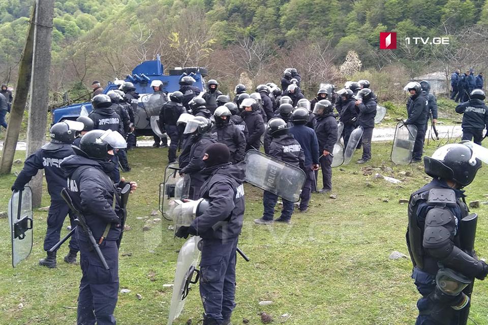 Պանկիսիի կիրճում դիմակայության ժամանակ տուժել է երեք ոստիկան